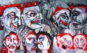 Fratzen der Gewalt_Grimaces of violence_110x165_2016