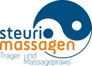 Steuri Massagen: Logo, Visitenkarte, Website
