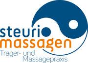 Steuri Massagen: Logo, Visitenkarte, Website