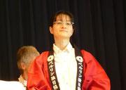 Auch unsere Chorleiterin Saiko Yoshida-Mengk scheint zufrieden