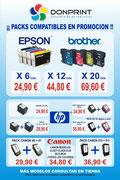 Ofertas pack cartuchos de tinta compatibles