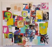 o.T. (alle meine Bilder), 2012, Öl, Leinwand, 195 x 210 cm