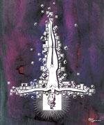 """New Cross"" (иллюстрация для журнала «Moulin Rouge»), 2008"
