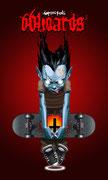 """Дизайн скейтборда """"666oard"""", 2002"""