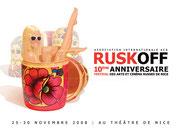 Имидж для Фестиваля Русского Искусства в Ницце, 2008