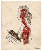 """""""О природе насилия"""" (иллюстрация для журнала «Moulin Rouge»), 2008"""