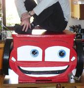 CARS - COMMODE EN CARTON - ENFANT - 200 €