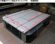 ベッド寸法です(標準ボディ)※ワイドボディ全幅1535mm※写真は旧モデルです。※マット色は標準色ではありません