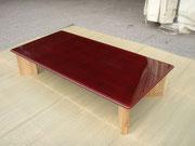 テーブル・漆塗り