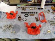 Toyota MR-2 aw11/...Bremssättel montieren-das bringt freude über die Nacht hinaus...