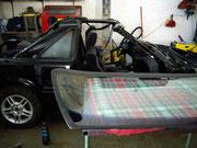 Toyota MR-2 aw11/ ...frisch Lackiert wird sofort die Scheibe einkleben...