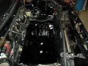 Toyota MR-2 aw11/...lackierter Kofferraum, auf Grund von Schäden durch Bremsflüssigkeit