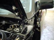 Toyota MR-2 aw11/... austausch vieler Schrauben durch V4a oder V2a-Schrauben