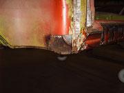Porsche 914/ Schwachpunkt A-Säule unterhalb