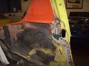 Porsche 914/ Bügel-innenseite ohne Rückwand