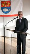 Bürgermeister Gerhard Horn berichtet über abgeschlossene und zukünftige Projekte in Reinfeld