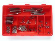 Box 1 -V4A- Zylinderkopfschrauben DIN 84