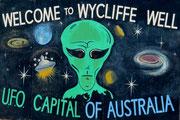 UFO landen im Outback