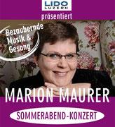 Lido Luzern, Konzertplakat
