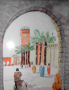 Maroc, aquarelle sur papier