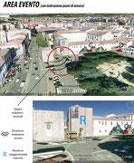 Impatto acustico locale all'aperto,Piazza Tasso Firenze