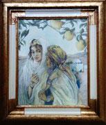 Deux femmes aux citronniers