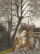 Valentine et sa soeur à Paris