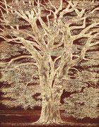Chêne négatif 19,5 x 25 cm