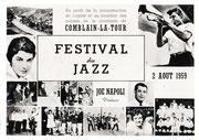 Carte postale 1959 du festival