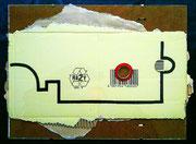 """""""PANORAMA REVISITED"""" (c) De Toys, 16.11.2008 (Edding auf Industriekarton)"""