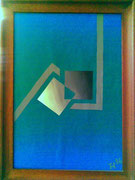 """De Toys: """"IDEALISMUS II"""", 1986 (Dispersionsfarbe auf Hartfaserplatte)"""