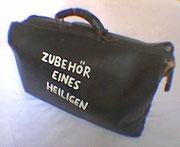 """De Toys: """"ZUBEHÖR EINES HEILIGEN"""" (Bewerbung für Kunstakademie Münster 1989)"""