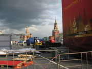Roter Platz besetzt von deutschen