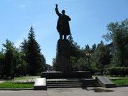 Irkutsk,natuerlich Lenin