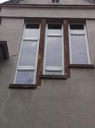 Holzfenster im Altbau mit Denkmalschutz