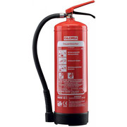 GLORIA SD 6. Dauerdruck Schaumlöscher. Löschkraft (Rating): 21A, 183B= 6 LE (Löschmitteleinheiten). Brandklasse AB. Funktionsbereich 0°C bis + 60C.