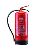 GLORIA PD 12 GA mit Wandhalter. 12 kg Dauerdruck Pulverlöscher. Löschkraft (Rating): 55A, 233B= 15 LE(Löschmitteleinheiten). Brandklasse ABC. Funktionsbereich -30°C bis + 60°C.