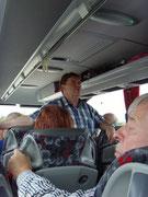 MPC2000-Männerchor auf der Fahrt nach Schwarzheide, Hotel Achat