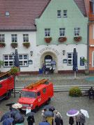 Fanclub MPC2000-Männerchor , Stadtführung in Senftenberg