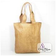 Ledertasche Damen Handtasche Leder Schultertasche Messenger Shopper Braun Casa Mina Design