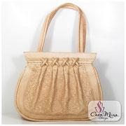 Ledertasche Damen Handtasche Leder Taschen Schultertasche Messenger Shopper Weiß Casa Mina Design