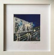 Höninger Weg Höhe yummy-town Fotoprint im Passepartout und Rahmen 25x25cm 30,-€