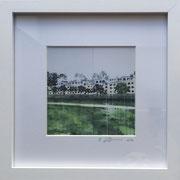 Rosenzweigpark Fotoprint im Passepartout und Rahmen 25x25cm 30,-€