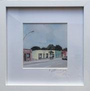 Gottesweg2 Fotoprint im Passepartout und Rahmen 25x25cm 30,-€