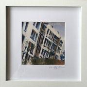 Lackgässchen Fotoprint im Passepartout und Rahmen 25x25cm 30,-€