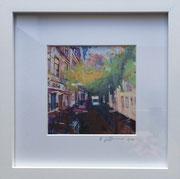 Zollhof Fotoprint im Passepartout und Rahmen 25x25cm 30,-€