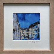 Roisdorfer Straße Fotoprint im Passepartout und Rahmen 25x25cm 30,-€