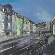 2019 Höninger Gewerbehöfe 46x46cm  460,-€ (Osteopathie Matthias Piehl)