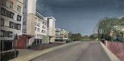 2021 Landskronstraße 98x50cm 740,-€
