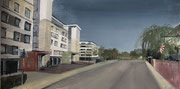 2021 Landskronstraße 98x50cm 740,-€  (hängt aktuell im Zollstocker Hof)